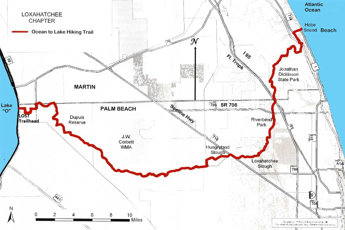 So Youre Interested In The Ocean To Lake Hiking Trail FAQ - Florida map jupiter